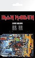Gb eye étui - porte-carte du groupe iron maiden - eddie
