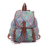SUNROLAN College Backpack/Rucksack Outdoor Satchel Bag for Girls/Students/Women