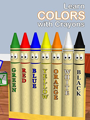 Learn Colors with Crayons