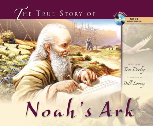 The True Story of Noah's Ark (with audio CD and pull-out spread)