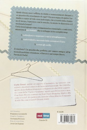 Libro guardaroba perfetto regole e consigli per rinnovare il look a costo zero di carla gozzi - Rinnovare casa a costo zero ...