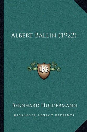 Albert Ballin (1922)