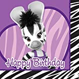 Creative Converting 16 Count Happy Birthday Lunch Napkins, Elzee