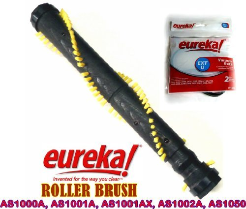 Eureka AirSpeed Upright Roller Brush and Belt Kit For Models AS1000A, AS1001A, AS1001AX, AS1002A, and AS1050. (Eureka Airspeed Exact Belt compare prices)