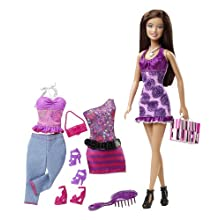 Mattel V8560 Barbie Doll And Fashions Theresa Gift Set