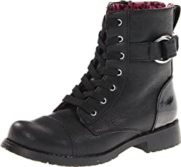 Rachel Shoes Peyton Boot,Black Smooth,1 M US Little Kid