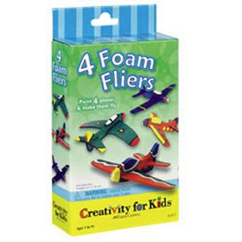 Creativity for Kids Foam Flyers Activity