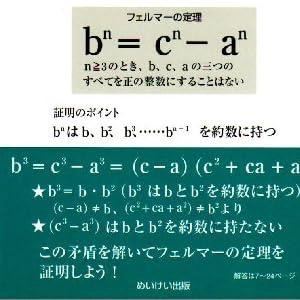 あなたも解けるフェルマーの定理完全証明