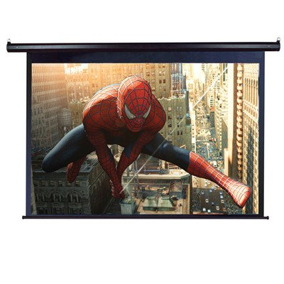 "Elite Screens Vmax135Xwv2-E24 Vmax2 Electric Projection Screen (135 Inch Diagonal 4:3 Ratio 81""Hx108""W)(24"" Drop)"
