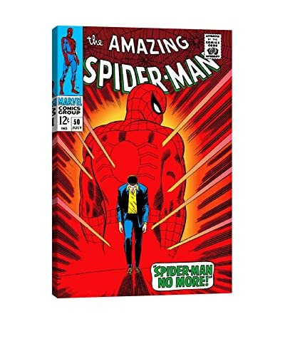 Marvel Comics Gallery Spider-Man Issue Cover #50 Canvas Print