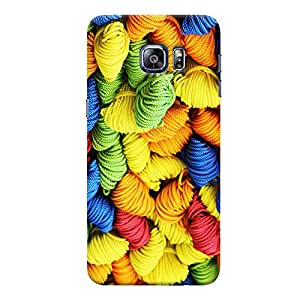 ColourCrust Samsung Galaxy S6 Edge Mobile Phone Back Cover With Colourpul Pattern Style - Durable Matte Finish Hard Plastic Slim Case