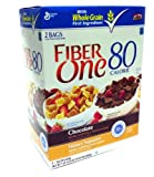 General Mills Fiber One Cereal Twin Pack - Chocolate - Honey Squares