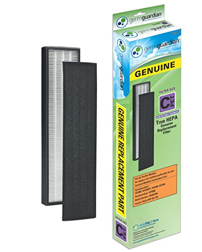 GermGuardian FLT5250PT GENUINE True HEPA with Pet Pure Treatment Replacement Filter C for AC5000 Series Air Purifiers (Air Purifier Pure compare prices)