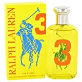 Big Pony Yellow 3 Perfume by Ralph Lauren Eau de Toilette Spray For Women 3.4 oz.100 ml. [WP] Free! Ralph Hot Shower Gel (Tamaño: 3.4 Ounces)