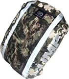 Respro Hi-Viz Hump Waterproof Light Rucsac Cover - Light Camo Reflective, 40 Litres