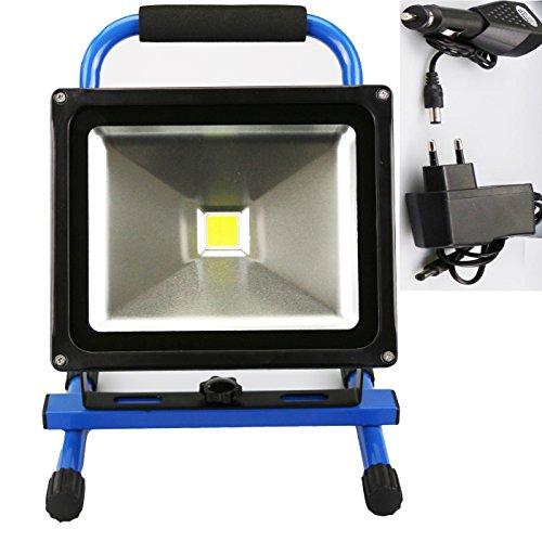 SZYSD-LED-30W-Blau-Akku-Baustrahler-Fluter-Wiederaufladbar-Strahler-Arbeitsleuchte-IP65-Handlampen-Flutlicht-Kaltwei
