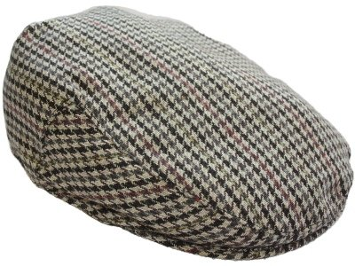Adults Unisex Mens ladies Tweed Country Style Flat Cap Hat Pauls M 58cm Beige