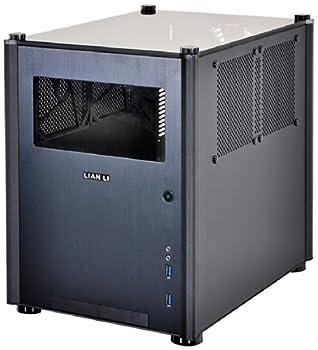 Lian Li Mini-ITX対応キューブケース フルブラック アクリルウィンドウ PC-Q36WX