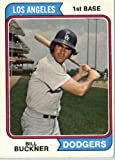 1974 Topps #505 Bill Buckner Los Angeles Dodgers Baseball Card In A