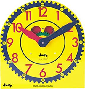 Carson Educational Products Color Coded Judy Clock