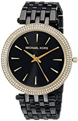 Michael Kors Women's MK3322 Darci Stainless Steel Watch with Crystal Bezel