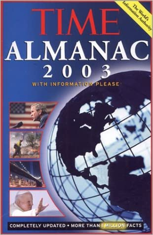 Time: Almanac 2003: With Information Please