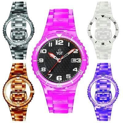 Yot Champion Watch Interchangeable Kit 1+5 = 625 / Black Analog with Translucents (Mens Champion Watches compare prices)