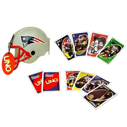 Sababa Toys New England Patriots UNO - Buy Sababa Toys New England Patriots UNO - Purchase Sababa Toys New England Patriots UNO (Sababa Toys, Toys & Games,Categories,Games,Card Games,Card Games)