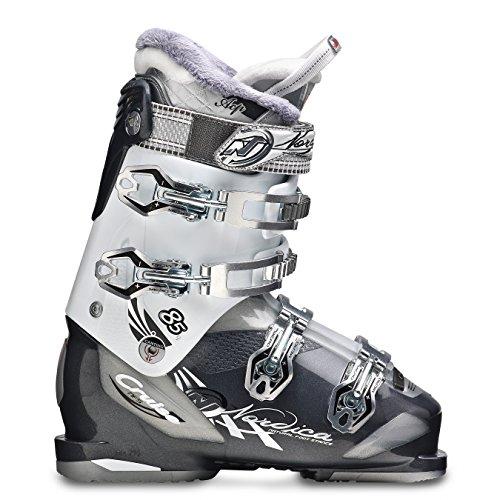 Nordica Cruise 85w 2015 Womens Ski Boots 22.5 Mondo, Anthracite/white