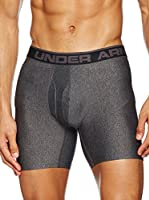 Under Armour Bóxer O Series 6'' Boxerjock 2 Pk (Gris Oscuro)