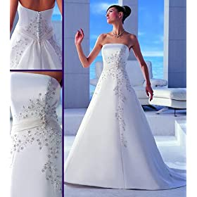 silk wedding gown sl500