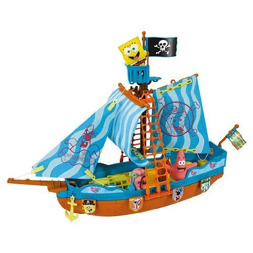 SpongeBob Pirate Ship Playset
