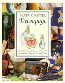 Beatrix Potter Decoupage Set (1999, Paperback + 75 Embossed Pre-cut Scraps)
