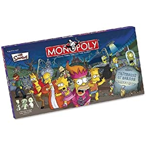 Click to buy The Simpsons Monopoly: Treehouse of Horrors from Amazon!