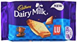 Cadbury Dairy Milk with Lu Biscuit Chocolate Bar 35 g(Pack of 18 Bars)