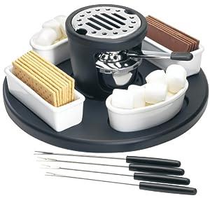 "Amazon.com: Casa Moda ""S'mores"" Maker: Fondue Pots: Kitchen &am..."