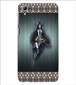 PrintDhaba Fantasy Girl D-4083 Back Case Cover for HTC DESIRE 826 (Multi-Coloured)