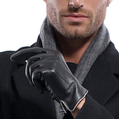 matsu-m1006-guanti-invernali-da-uomo-in-pelle-di-agnello-black-non-touchscreen