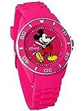 ディズニー ミッキーマウス ウォッチ ベルト ビビッドピンク 3D ミッキー シリコン 腕時計 オールドミッキー ディズニー 腕時計 メンズ レディース キッズ WATCH Disney ミッキー 時計 ディズニー 腕時計 ミッキー [並行輸入品]