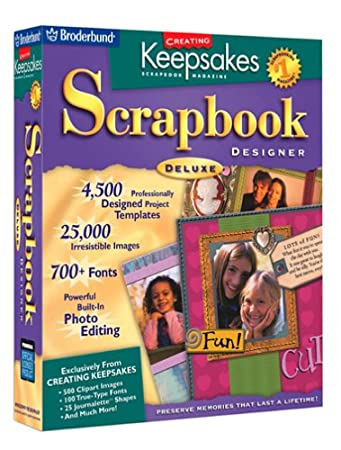 Creating Keepsakes Scrapbook Designer Deluxe  [OLD VERSION]