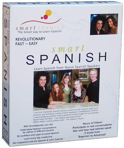 SmartSpanish CDRom - Learn Spanish from Real Natives