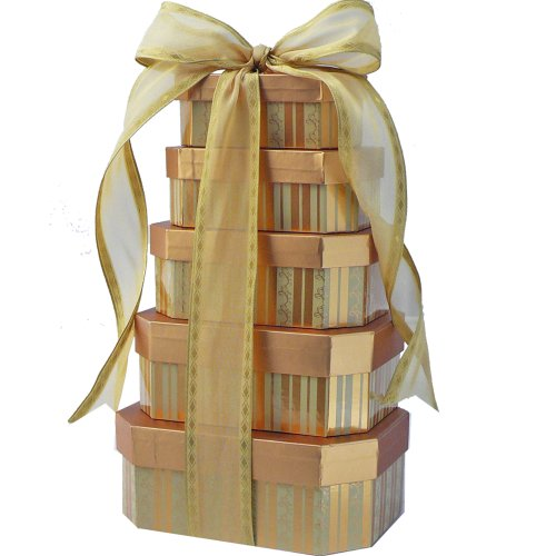 Sweet Appreciation Gift Tower - Gourmet Food Gift Basket