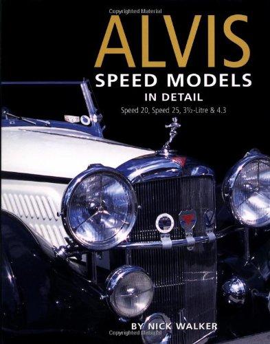 Alvis Speed Models in Detail (In Detail (Herridge & Sons))