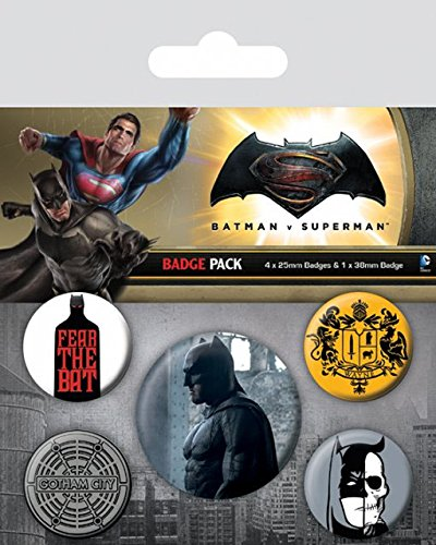 Spilla Batman v Superman Pin Badges 5 Pack Batman Other