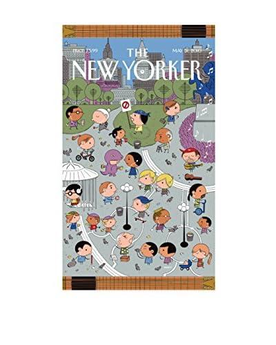 The New Yorker Union Square Beach Towel, Multi