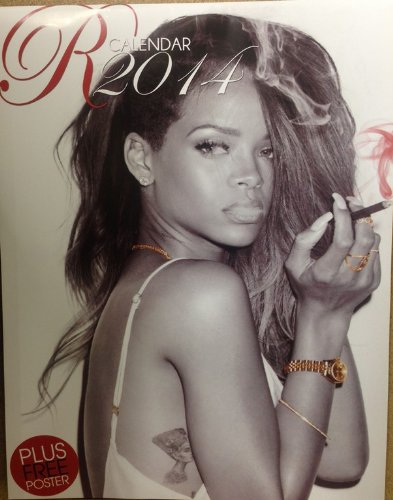 ** SPECIAL OFFER ** RHIANNA 12 MONTH 2014 Wall Calendar - 100% Sealed - FREE POST