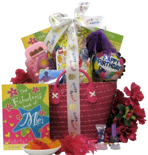 Great Arrivals Kid's Birthday Basket for Girls Ages 9 to 12, Fabulous Me