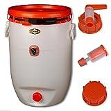 Fermentatore SPEIDEL - Fusto rotondo 60 L + 1 airlock + 1 rubinetto + 1 tappo (22133+137+138+140)