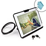 51Y1I t1AZL. SL160  SecureStand Anti Theft Tablet Case Security Stand with Heavy Duty Cable Lock and Shock Absorbing Foam Padding   Works for iPad Air 2 / Air! *Includes Bonus Cleaning Cloth