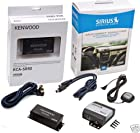 Complete Sirius Satellite Radio System for Satellite Ready Kenwood Receivers KCA-SR50 + SCC1